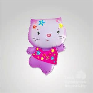 Шар фигура фольга «Hello Kitty» с гелием