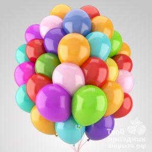 Облако из 30 воздушных шаров наполненных гелием. Облако из гелиевых шаров в Калининграде. Шары39.рф