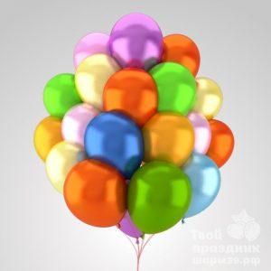 Связка из 20 гелиевых шаров перламутр /металлик. Облако из 20 гелиевых шариков перламутр /металлик. 20 воздушных шариков перламутр /металлик наполненных гелием