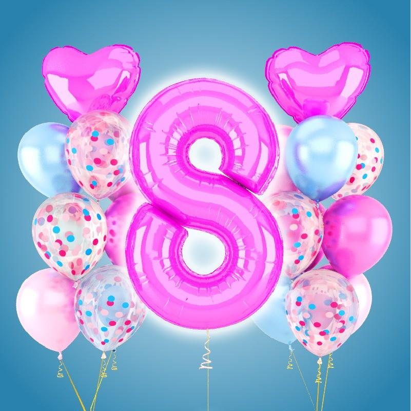 Заказ воздушных и гелиевых шаров с доставкой +7 921 710-01-67. Оформление праздников воздушными шарами в Калининграде!