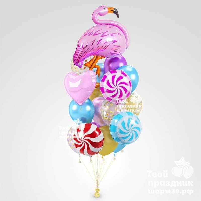 Букет из воздушных гелиевых шаров в Калининграде! т. 52-01-67, звоните! шары39.рф