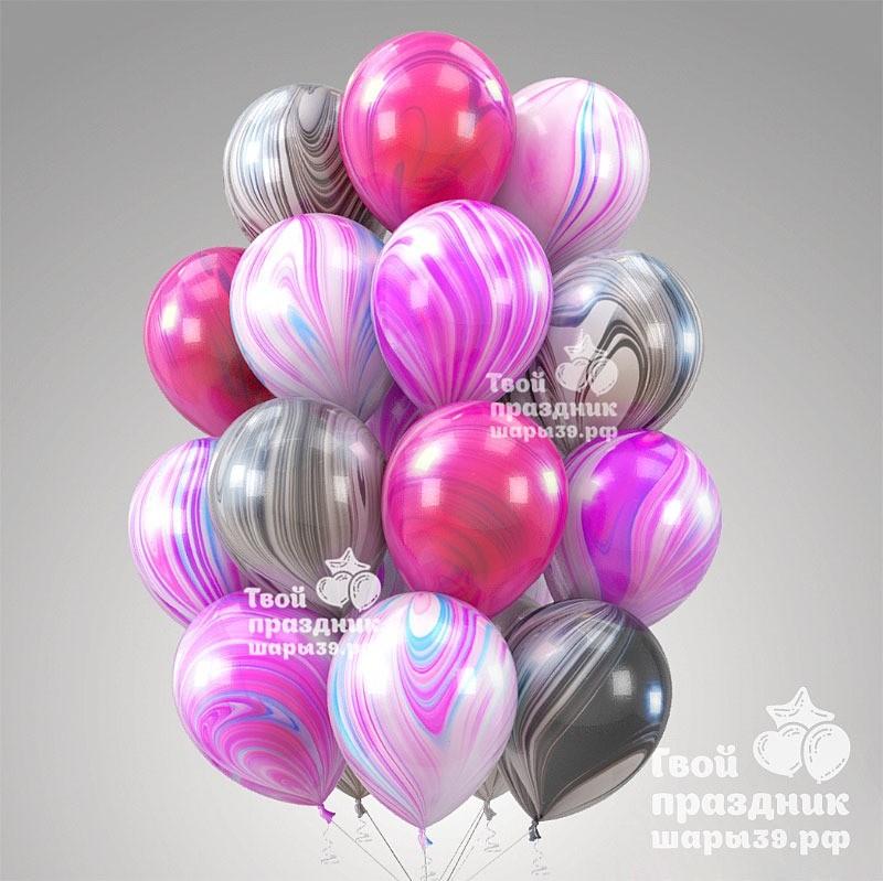 Воздушные шары Супер агаты в Калининграде! Шары39.рф Заказывайте: 52-01-67