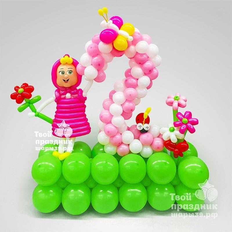 Тематическое оформление детского дня рождения! Шары39.рф в Калининграде. Звоните - 52-01-67