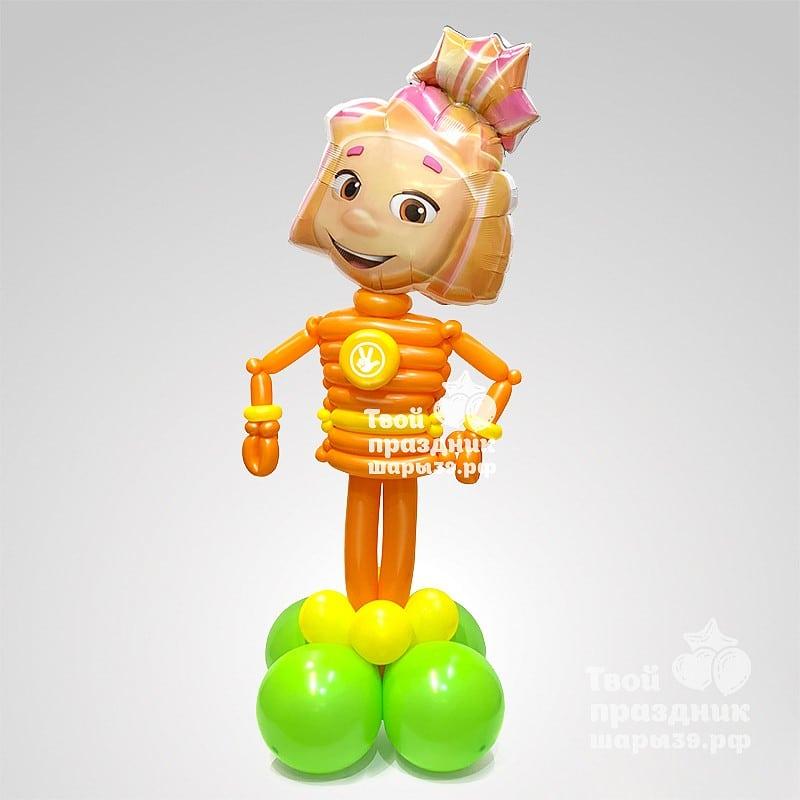 Фиксик Симка - фигура из воздушных шаров! Шары39.рф, Калининрад